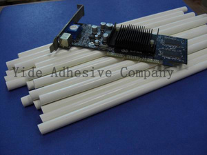 Flame retardant electronic special high temperature glue stick